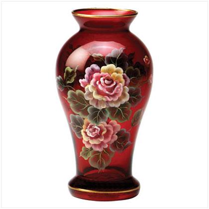 Glass Flower Vase Handicraft