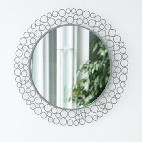 antique contemporary designs are both in vogue as far the mirror frames are concerned any frameless wall mirror can be transformed into a decorative and - Metal Mirror Frame